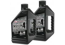 ACEITE MAXIMA MAXUM-4 ULTRA 0W30 4T 1LT 100% SINTETICO ET. PLATA