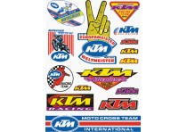 KTM RETRO STICKER SET