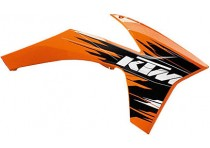 KTM SPOILER KIT ORANGE SX/XC 2011