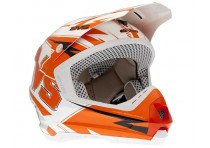 EVS HELMET T5BOLT ORANGE/WHITE SIZE M