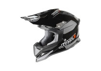 JUST1 HELMET J12 STAMP BLACK CARBON SIZE M