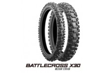 LLANTA BRIDGESTONE BATTLECROSS X30F 90/100-21 DELANTERA IT - HT