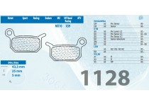 BALATAS CARBONE LORRAINE 1128XC7 KTM SX50/65