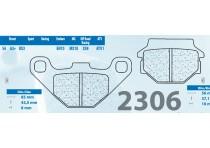 BALATAS CARBONE LORRAINE 2306X2 TRASERAS KTM 89 - 96