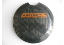 CARBON STYLE CLUTCH COVER PROTECTOR 250/300 08-16