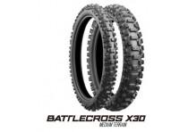 LLANTA BRIDGESTONE BATTLECROSS X30R 110/100-18 TRASERA IT - HT