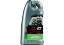 MOTOREX OIL CROSS POWER 4T 10W60 FULLY SYNTHETIC 1L