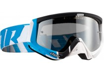 THOR GOGGLE SNIPER BARRED WHITE/BLACK