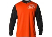 TLD GP JERSEY HOT ROD ORANGE SIZE M